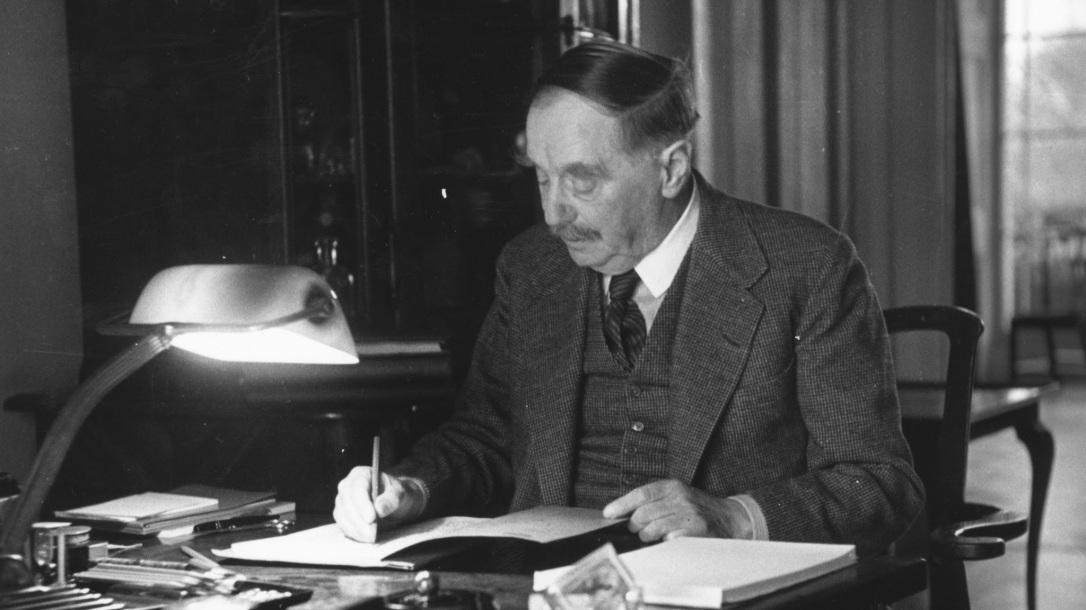 H G Wells' Desk