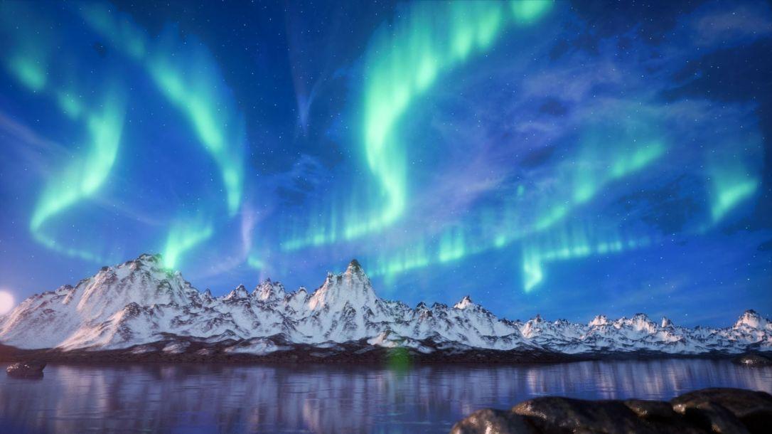 aurora-borealis-3d-model-blend