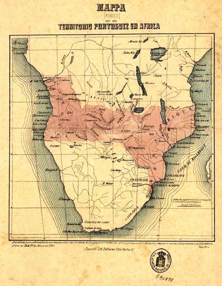 Mapa Cor de Rosa