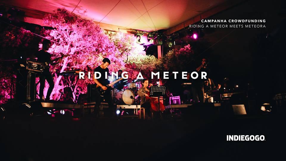 riding a meteor